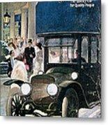 Lozier Cars - Vintage Advertisement Metal Print