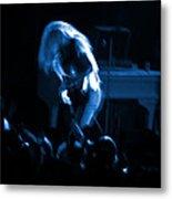 Ls Spo #79 Crop 2 In Blue Metal Print