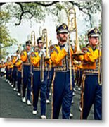 Lsu Marching Band 3 Metal Print