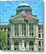 Lucas County Court House Metal Print