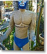 Luche Libre - 01 Metal Print by Gregory Dyer