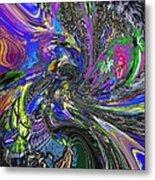 Lucid Dream - The Garden Metal Print