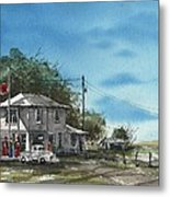 Lucille's On Route 66 Metal Print