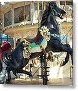 Lucky Black Pony - Syracuse Ptc No 18 Metal Print