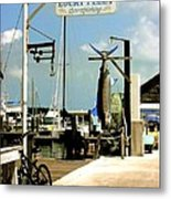 Lucky Fleet Key West  Metal Print