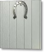 Lucky Horseshoe Entrance Metal Print