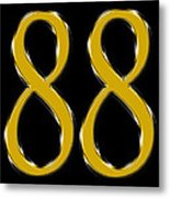Lucky Number 8 Metal Print