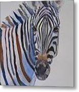 Lucky Stripe Metal Print