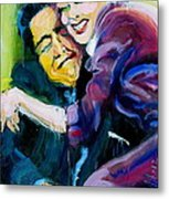 Lucy And Ricky Metal Print