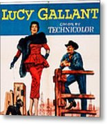 Lucy Gallant, Us Poster Art, From Left Metal Print