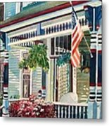 Ludington House B And B Metal Print