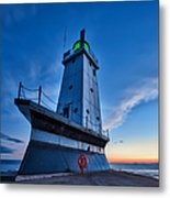 Ludington Lighthouse Metal Print