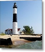 Ludington Michigan's Big Sable Lighthouse Metal Print