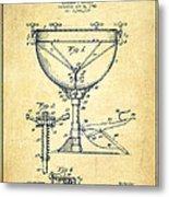 Ludwig Kettle Drum Drum Patent Drawing From 1941 - Vintage Metal Print