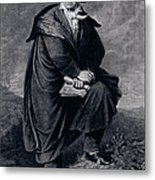 Ludwig Van Beethoven , German Composer Metal Print
