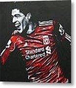 Luis Suarez - Liverpool Fc 2 Metal Print