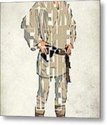 Luke Skywalker - Mark Hamill  Metal Print