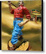 Lumberjacks Metal Print