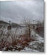 Lumberville Bridge Bucks County Metal Print