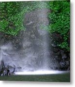 Luminous Falls Metal Print