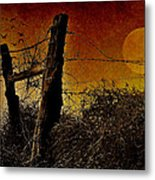 Luna De Sangre Metal Print