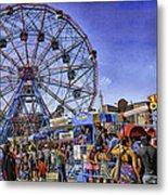 Luna Park 2013 - Coney Island - Brooklyn - New York Metal Print