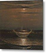 Lunar Apparition Metal Print