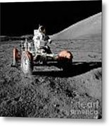 Lunar Ride Metal Print
