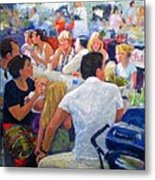 Lunch At The O.b.m. Metal Print