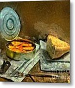 Lunch In Times Of Crisis Metal Print