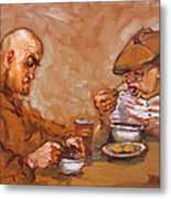 Lunchtime At Tim  Metal Print