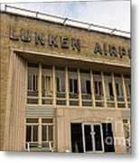 Lunken Airport In Cincinnati Ohio Metal Print