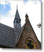 Luss Church Steeple Metal Print