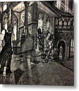 Lust In The Temple Metal Print by George Harrison