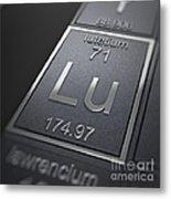 Lutetium Chemical Element Metal Print