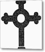 Lutheran Cross Metal Print