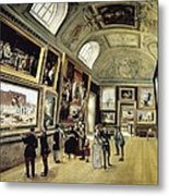 Luxembourg Palace. One Of Its Halls Metal Print