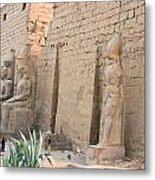 Luxor Temple Metal Print