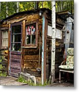 Luxury Ski Lodge In Telluride Co Dsc07461 Metal Print