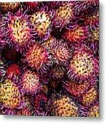 Lychee Fruit - Mercade Municipal Metal Print