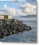 Lyme Regis - View Towards Charmouth Metal Print
