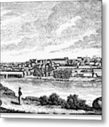 Lynchburg, Virginia, 1856 Metal Print