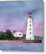 Lynde Point Lighthouse Metal Print