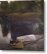 Lyons Falls  - Moose River Metal Print