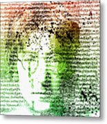 Lyrical Memories  Metal Print