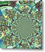 Lyrical Tree Mandela Metal Print