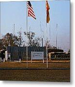 Lz Oasis 3d Brigade None Better Headquarters 4th Infantry Division Vietnam  1969 Metal Print