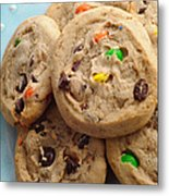 M And M - Chocolate Chip - Cookies - Bakery Shop Metal Print