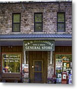 M And M Mercantile Metal Print