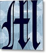 M Is For Me Metal Print